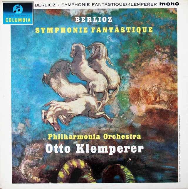 クレンペラーのベルリオーズ/幻想交響曲 英Columbia 3025 LP レコード