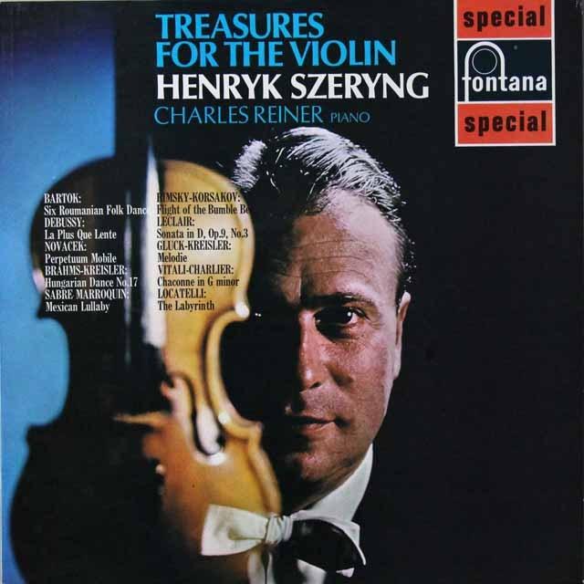 シェリングのリムスキー=コルサコフ/「熊蜂の飛行」ほか 英fontana 3221 LP レコード