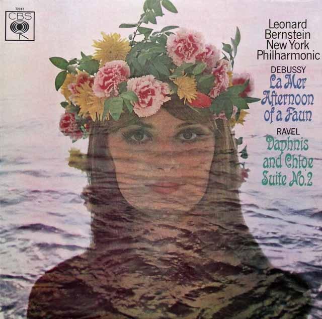 バーンスタインのドビュッシー/「海」ほか 英CBS 3285 LP レコード