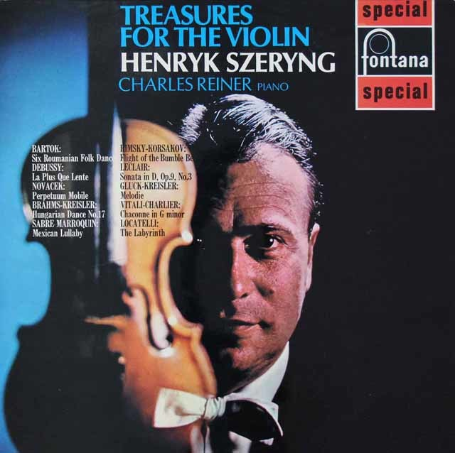 シェリングのリムスキー=コルサコフ/「熊蜂の飛行」ほか 英fontana 3025 LP レコード