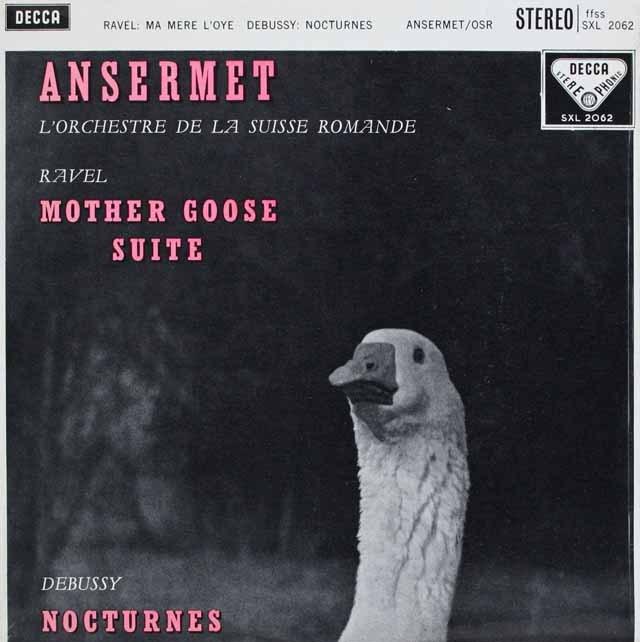アンセルメのラヴェル/「マ・メール・ロア」ほか 英DECCA 3229 LP レコード