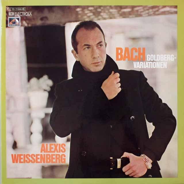 ワイセンベルクのバッハ/ゴルトベルク変奏曲  独EMI  2619 LP レコード