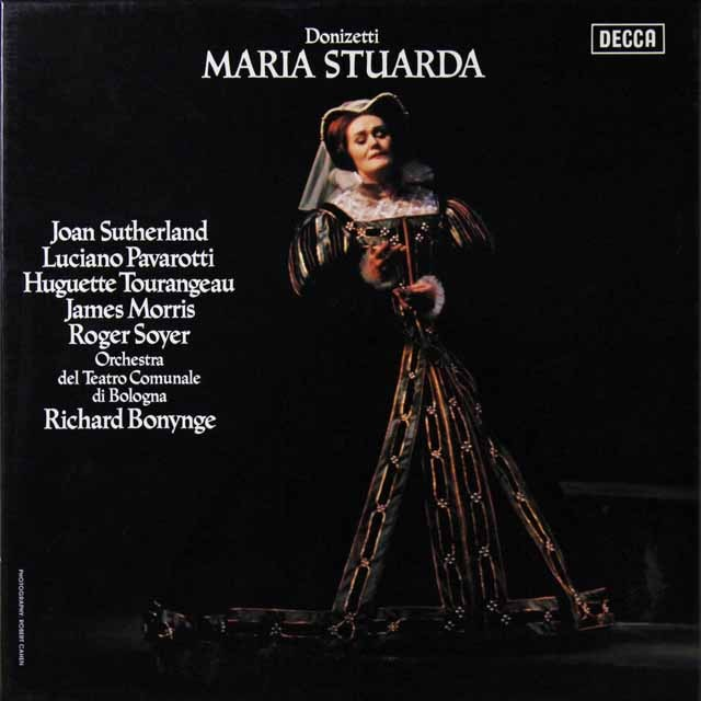 サザーランド&パヴァロッティのドニゼッティ/「マリア・ストゥアルダ」 独DECCA 2706 LP レコード