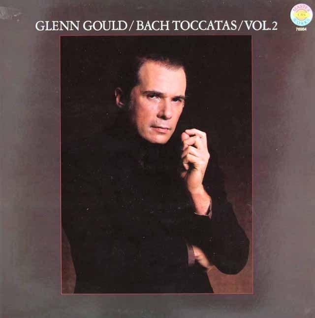 グールドのバッハ/トッカータ集 第2巻 独CBS 3219 LP レコード