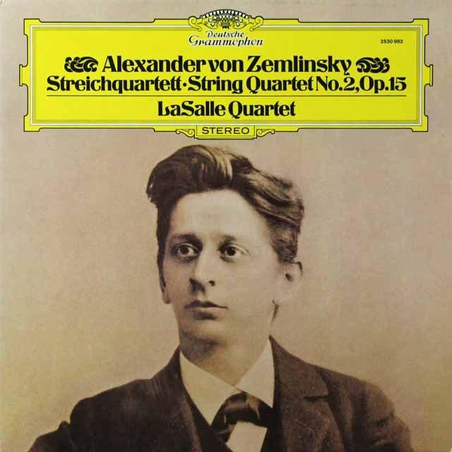ラサール四重奏団のツェムリンスキー/弦楽四重奏曲第2番 独DGG 2706 LP レコード