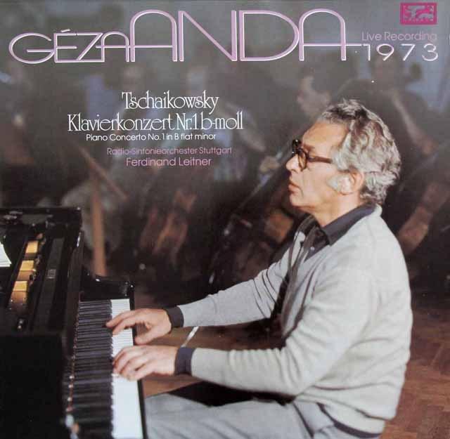 アンダ&ライトナーのチャイコフスキー/ピアノ協奏曲第1番 独eurodisc 3282 LP レコード