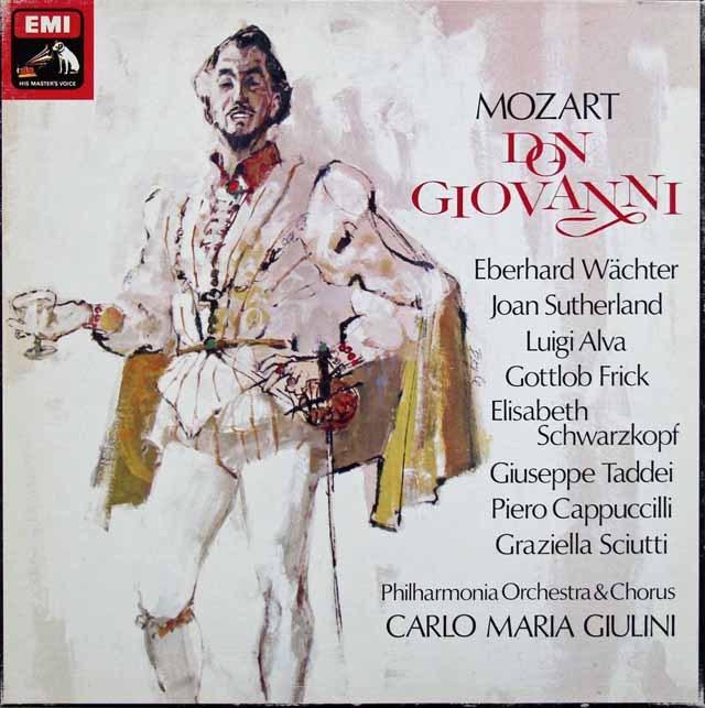 ジュリーニのモーツァルト/「ドン・ジョヴァンニ」 英EMI 3282 LP レコード