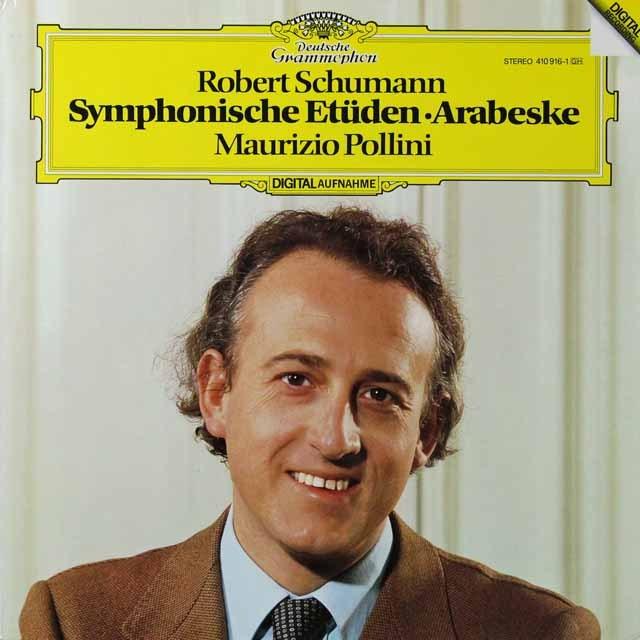 ポリーニのシューマン/「交響的練習曲」ほか 独DGG 3292 LP レコード