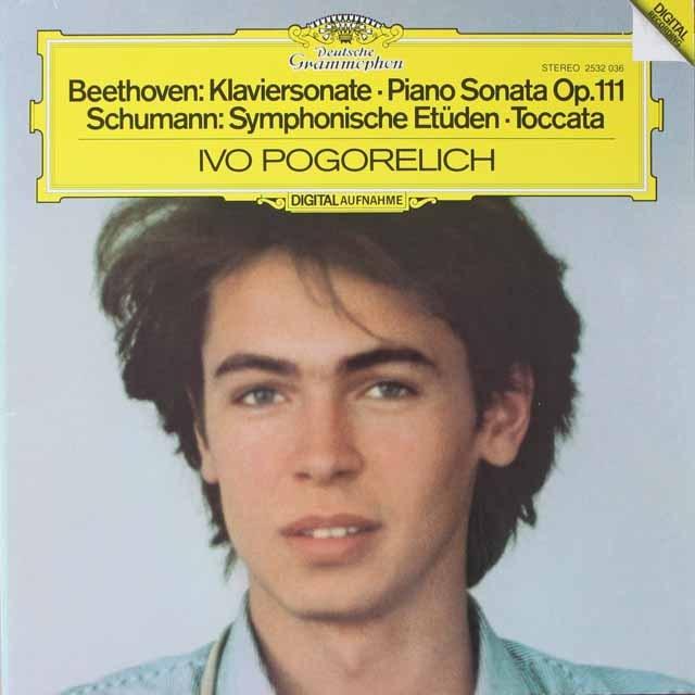 ポゴレリチのベートーヴェン/ピアノソナタ第32番ほか  独DGG  2620 LP レコード