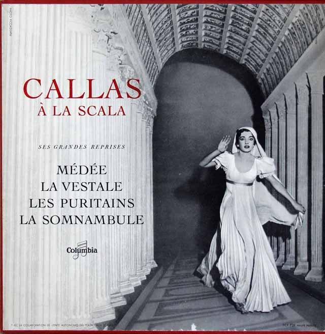 スカラ座のカラス 仏Columbia 3010 LP レコード