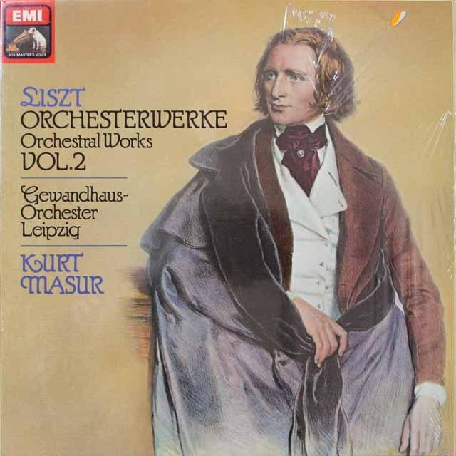 未開封:マズアのリスト/管弦楽曲集  独EMI  2635 LP レコード