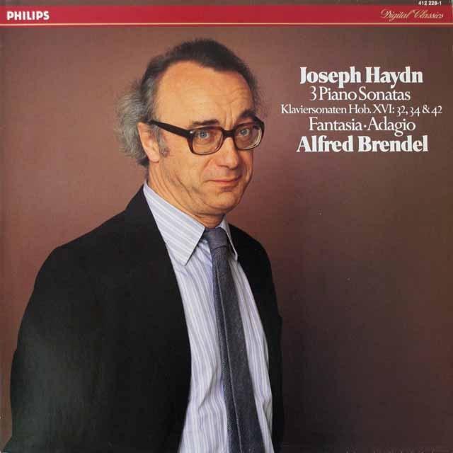 ブレンデルのハイドン/ピアノソナタ集 蘭PHILIPS  2620 LP レコード