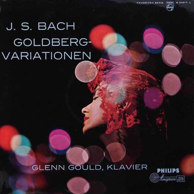 グールドのバッハ/ゴルトベルク変奏曲 独PHILIPS 3010 LP レコード
