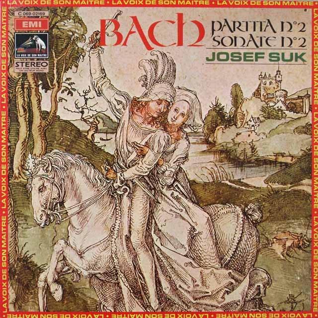スークのバッハ/無伴奏ヴァイオリンソナタ&パルティータ  仏EMI(VSM)  2636 LP レコード