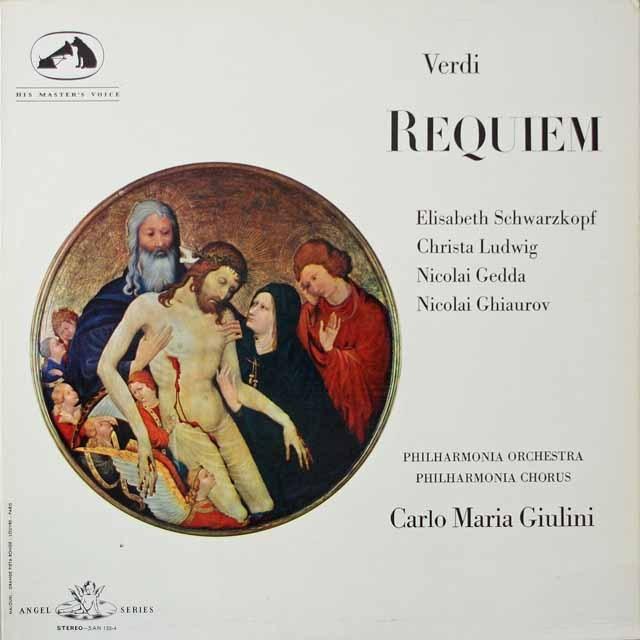 ジュリーニのヴェルディ/レクイエム 英ANGEL(EMI)  2620 LP レコード