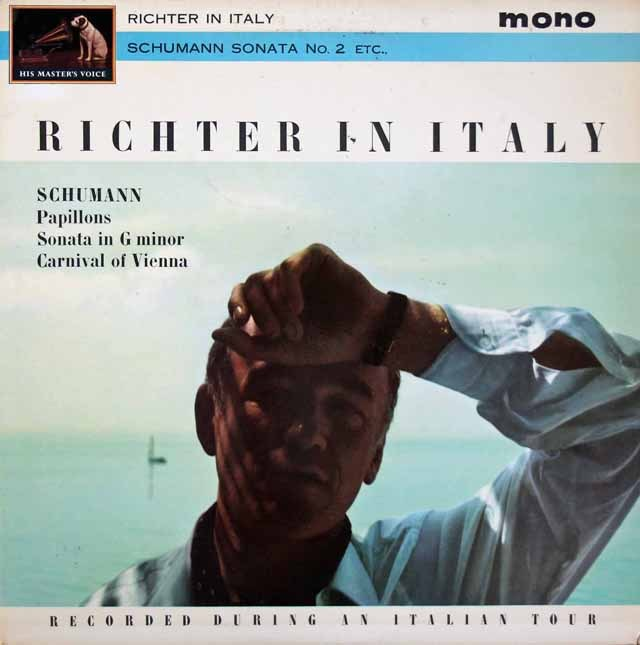 【モノラル】イタリアのリヒテル 英EMI(HMV) 3398 LP レコード
