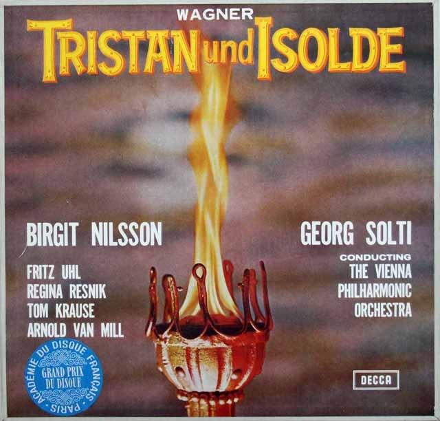 ショルティのワーグナー/「トリスタンとイゾルデ」全曲 独DECCA 3010 LP レコード