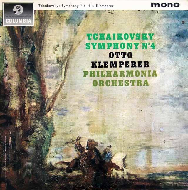 【モノラル】 クレンペラーのチャイコフスキー/交響曲第4番 英Columbia 3398 LP レコード
