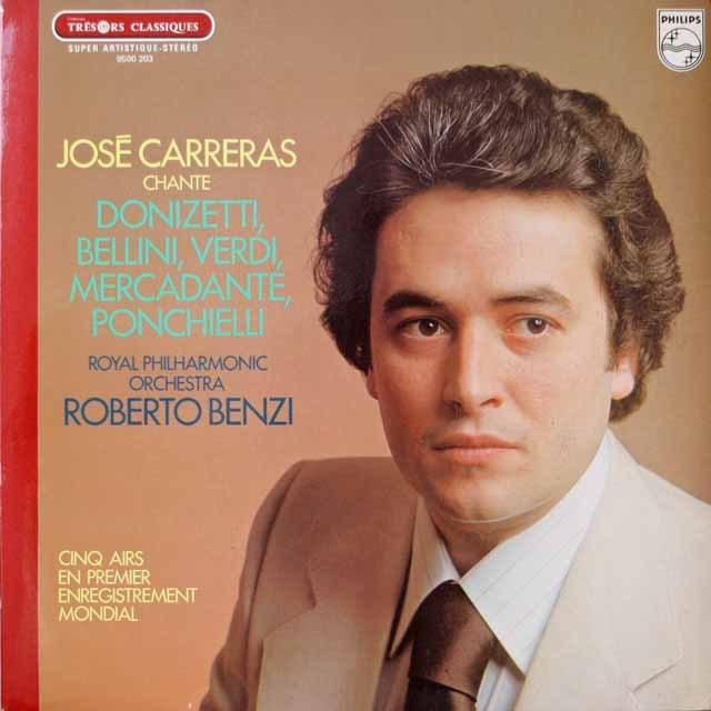カレーラスのオペラアリア集 仏PHILIPS 2621 LP レコード