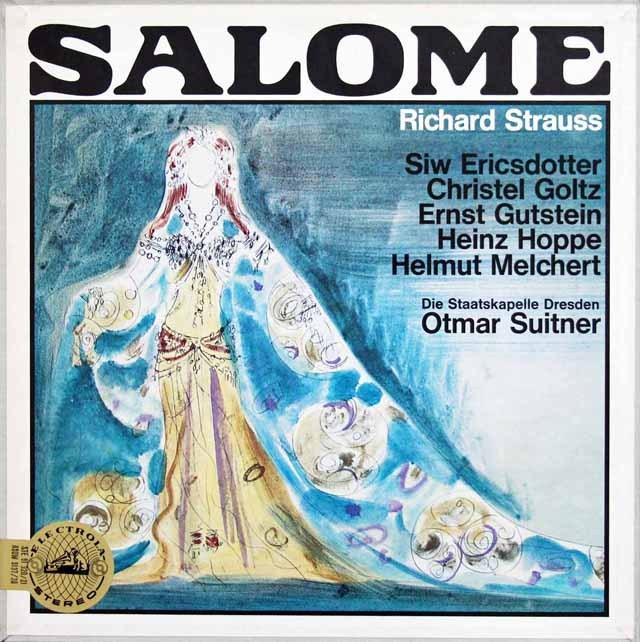 スウィトナーのR.シュトラウス/「サロメ」全曲 独EMI 3392 LP レコード