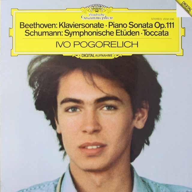 ポゴレリチのベートーヴェン/ピアノソナタ第32番ほか  独DGG 2621 LP レコード