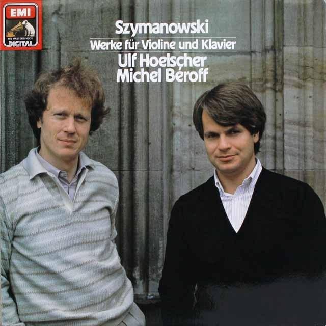 ウルフ・ヘルシャー&ベロフのシマノフスキ/ヴァイオリンとピアノのための作品集 独EMI  3228 LP レコード