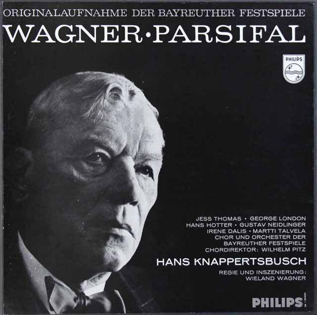 クナッパーツブッシュのワーグナー/「パルジファル」 蘭PHILIPS  2924 LP レコード
