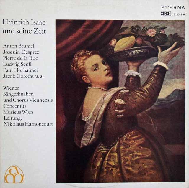 アーノンクールの「イザークとその時代」 独ETERNA 3283 LP レコード