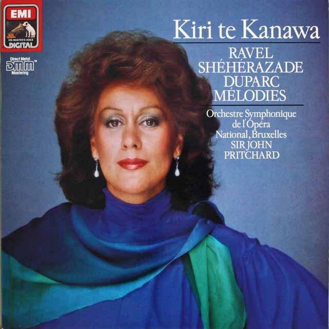 キリ・テ・カナワのラヴェル/「シェヘラザード 」ほか 独EMI 3228 LP レコード