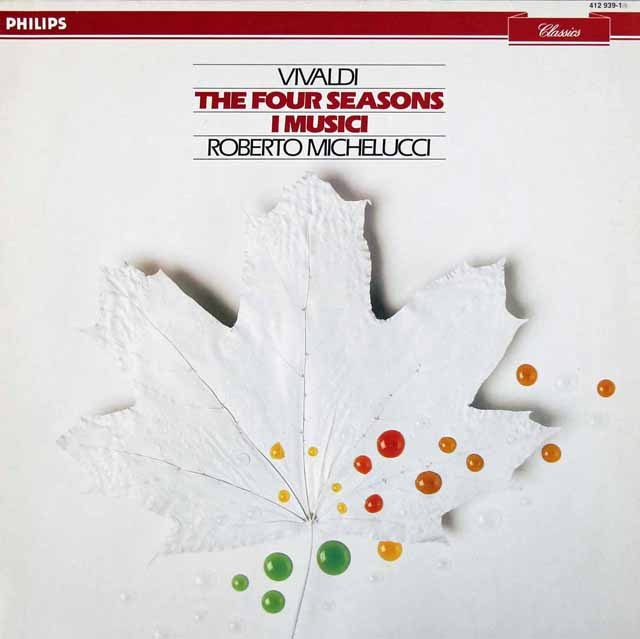 ミケルッチ&イ・ムジチのヴィヴァルディ/「四季」 蘭PHILIPS 2924 LP レコード