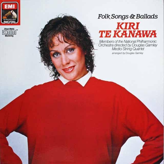 キリ・テ・カナワのイギリス民謡集  独EMI 3228 LP レコード