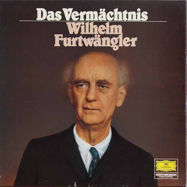 フルトヴェングラーの遺産 独DGG 2916 LP レコード