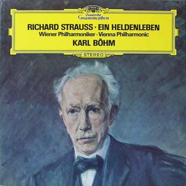 ベームのR.シュトラウス/英雄の生涯 [サイン入り] オーストリアDGG  2638 LP レコード