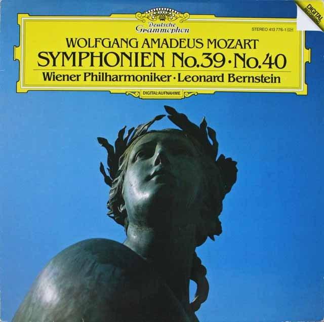 バーンスタインのモーツァルト/交響曲第40&39番 独DGG