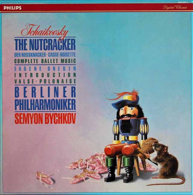 ビシュコフのチャイコフスキー/「くるみ割り人形」全曲 蘭PHILIPS 3294 LP レコード