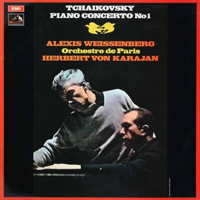 ワイセンベルク&カラヤンのチャイコフスキー/ピアノ協奏曲第1番 英EMI 3294 LP レコード
