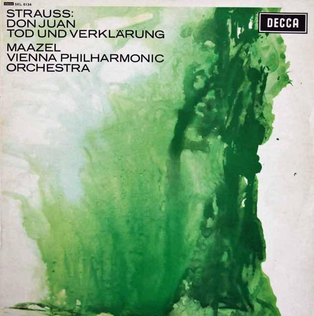 マゼールのR.シュトラウス/「ドン・ファン」&「死と浄化」 英DECCA 3294 LP レコード