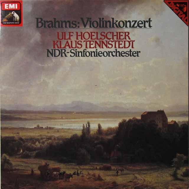 ウルフ・ヘルシャー&テンシュテットのブラームス/ヴァイオリン協奏曲 独EMI 3292 LP レコード