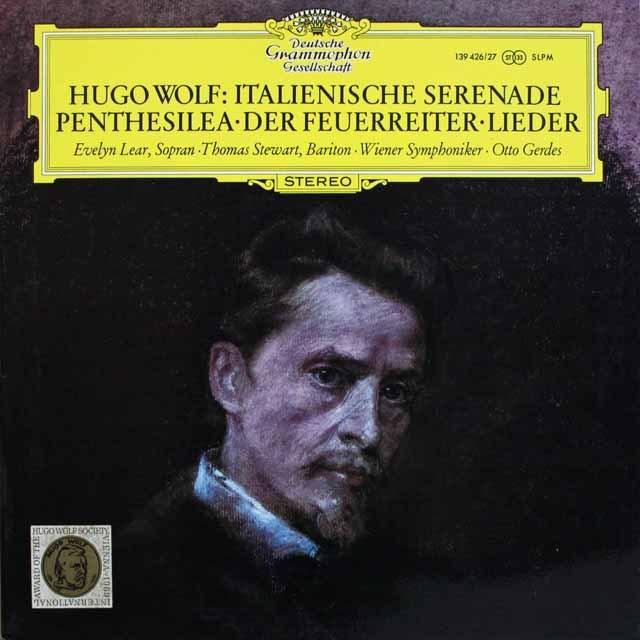 ゲルデスのヴォルフ/「イタリアのセレナード」ほか 独DGG 3231 LP レコード