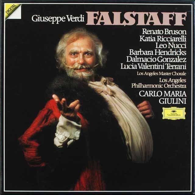 ジュリーニのヴェルディ/「ファルスタッフ」全曲 独DGG 3231 LP レコード