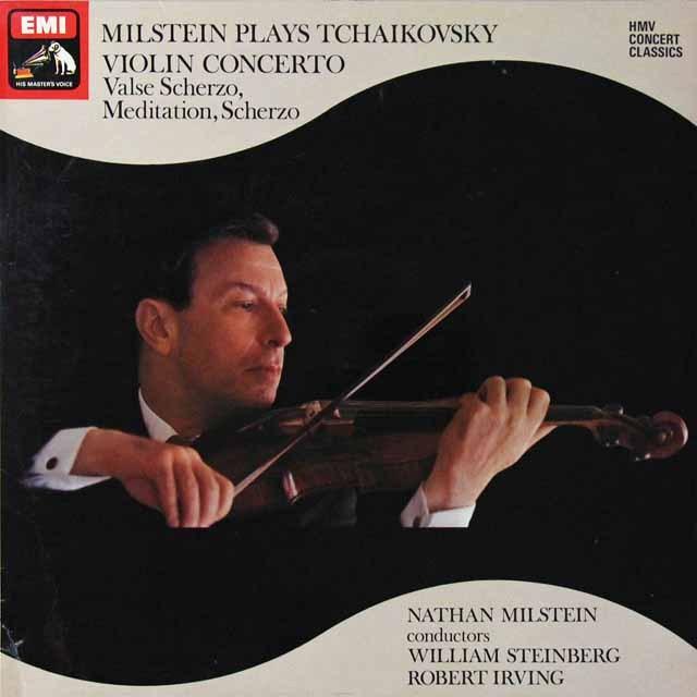 ミルシュタインのチャイコフスキー/ヴァイオリン作品集 英EMI  2708 LP レコード