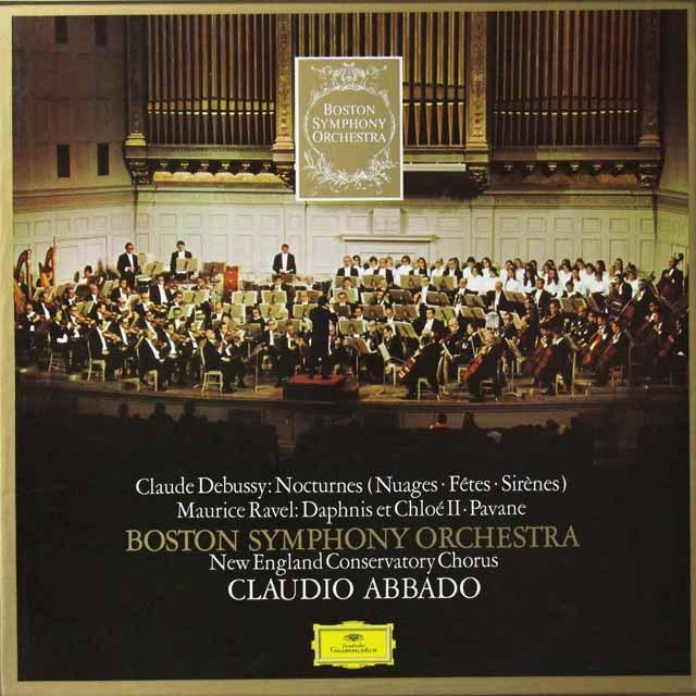 アバド&ボストン響のドビュッシー&ラヴェル/管弦楽曲集 独DGG 3292 LP レコード