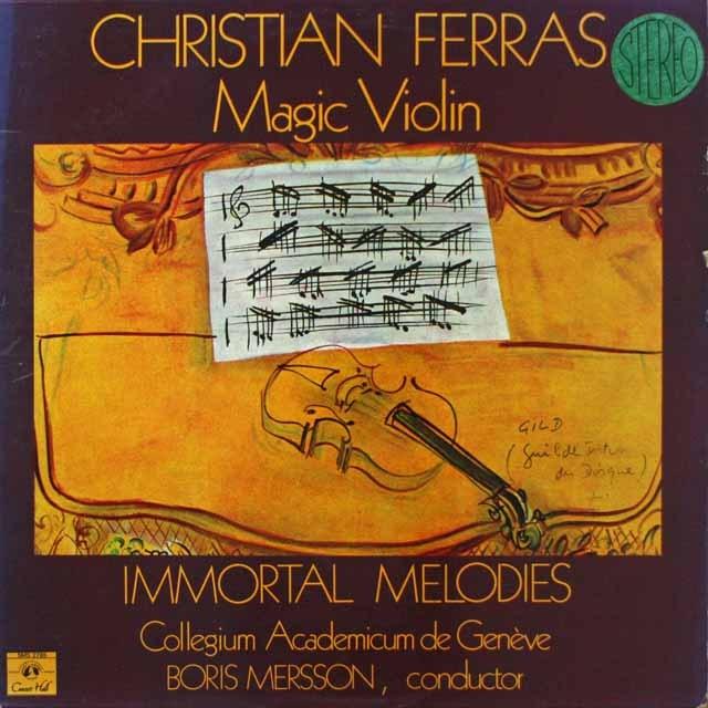 フェラスのヴァイオリン名演集  仏CH  2641 LP レコード