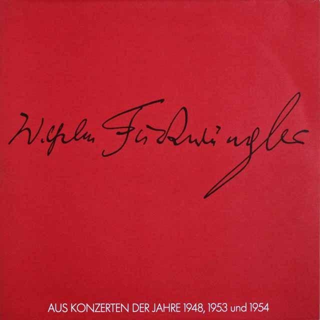 フルトヴェングラーのバッハ/管弦楽組曲第3番ほか 独WF協会 3303 LP レコード