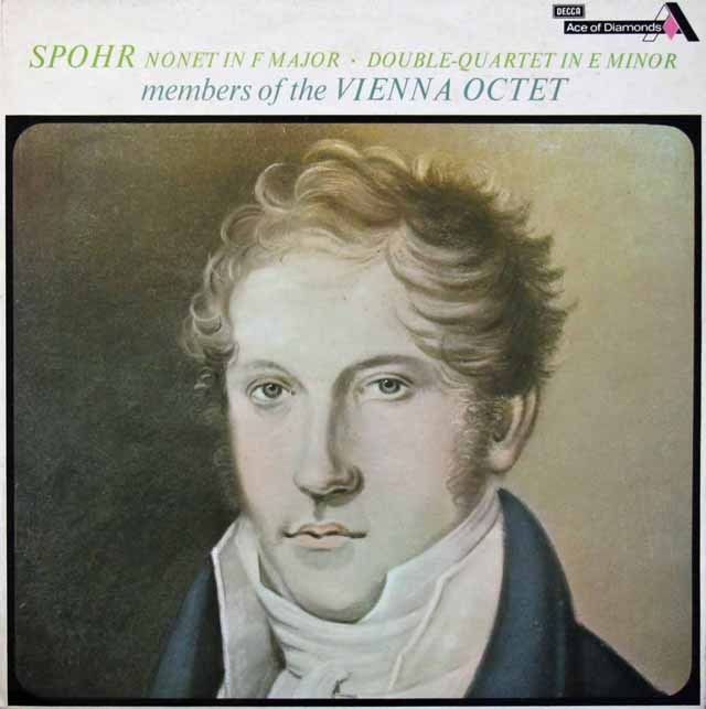 ウィーンオクテットのシュポーア/九重奏曲ほか 英DECCA 3283 LP レコード