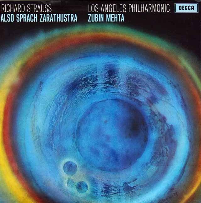 メータのR.シュトラウス/「ツァラトゥストラはかく語りき」 英DECCA 3283 LP レコード