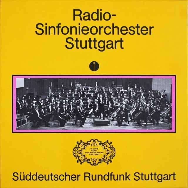 シュトゥットガルト放送交響楽団40周年の歩み 独SWR 3303 LP レコード