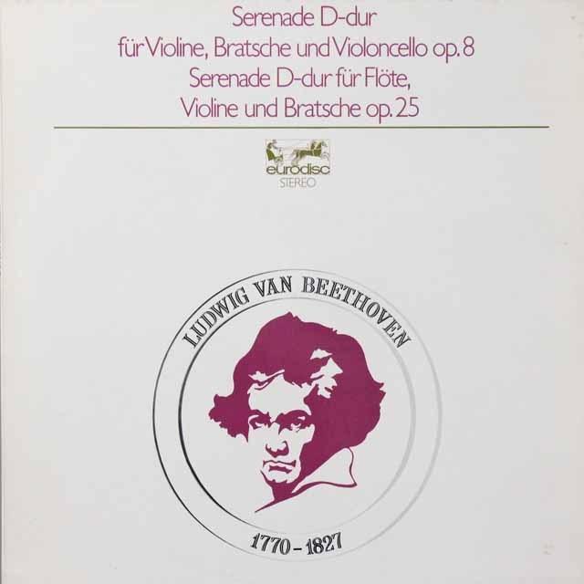ドレスデン・カンマー・ゾリステンのベートーヴェン/セレナード集 独eurodisc 3223 LP レコード