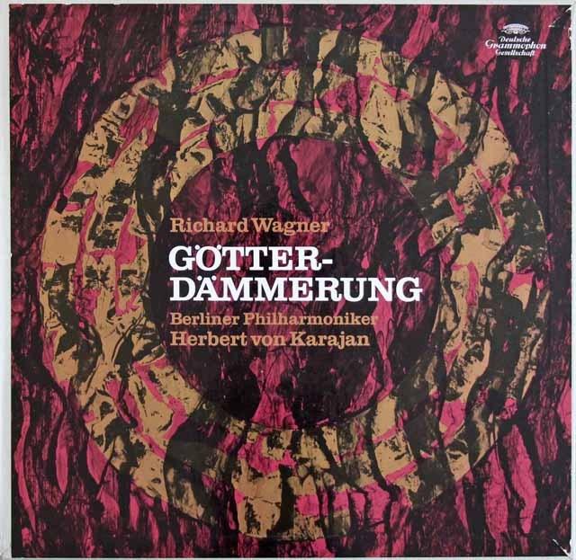 カラヤンのワーグナー/「神々の黄昏」 独DGG 2918 LP レコード