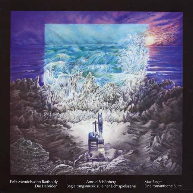 ツェンダーのメンデルスゾーン/「フィンガルの洞窟」ほか  独SR    2525 LP レコード